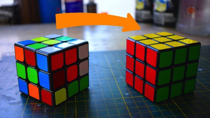 The Way To Solve A Rubik's Cube Using The Twist